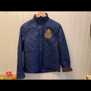 Ralph Lauren Quilted riding jacket